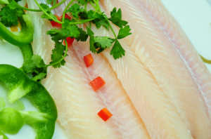LIGHT YELLOW WELL-TRIMMED PANGASIUS FILLET