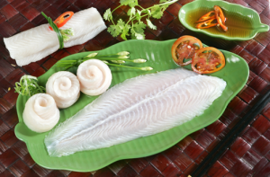 WHITE WELL-TRIMMED PANGASIUS FILLET